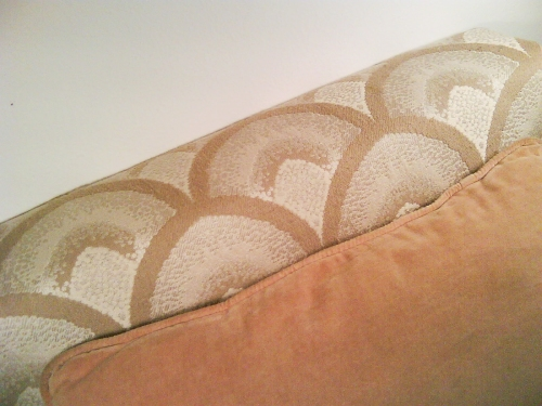 Upholstered Chair Detail