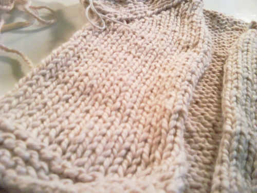 Baby Sweater Detail